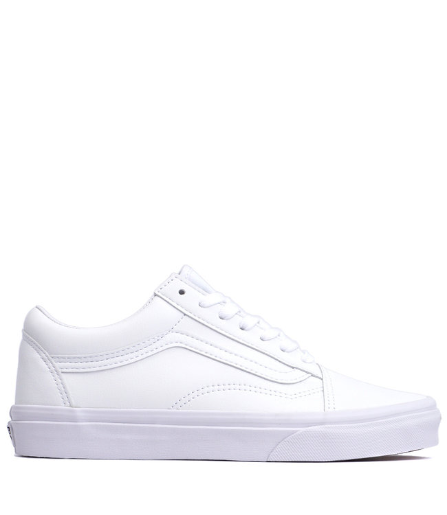 vans old skool whitw