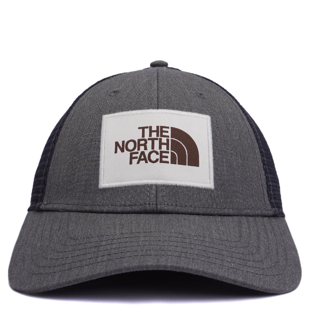 adff74383 The North Face Mudder Trucker Hat - Medium Grey Heather/Vintage White