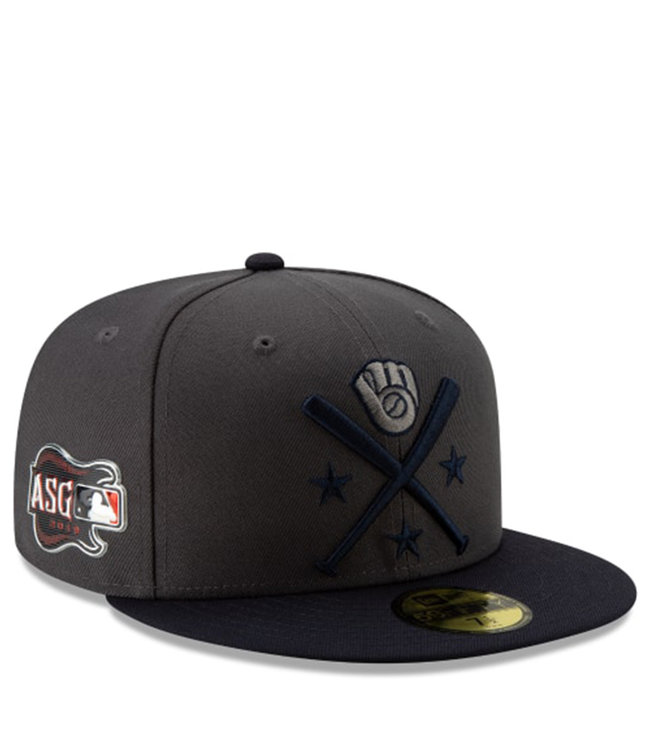 f0daec18e5117 Brewers 2019 All-Star Game Workout 59Fifty Fitted