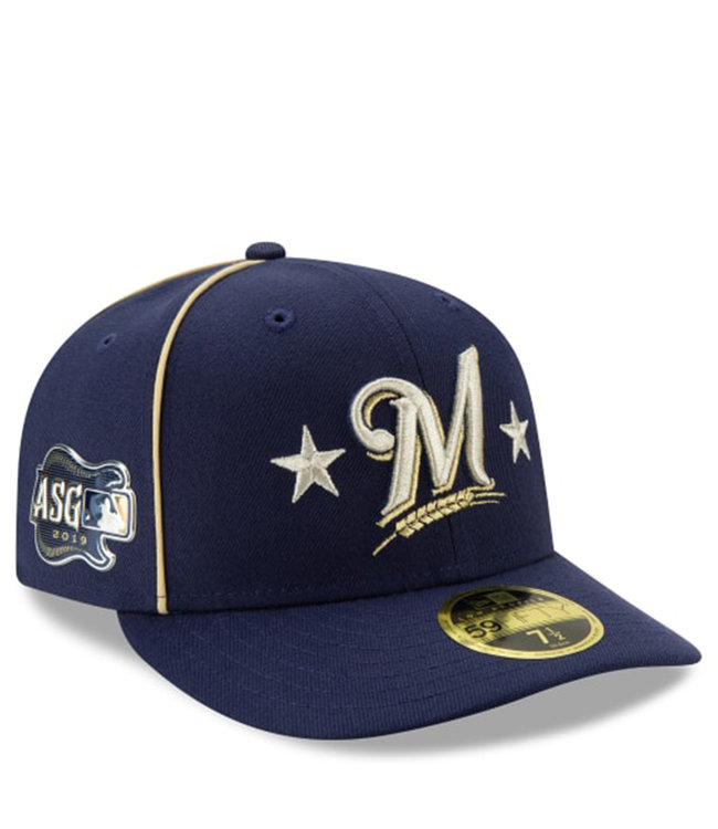 competitive price 5ee4f eee91 NEW ERA Brewers 2019 All-Star Game Low Profile Fitted Hat
