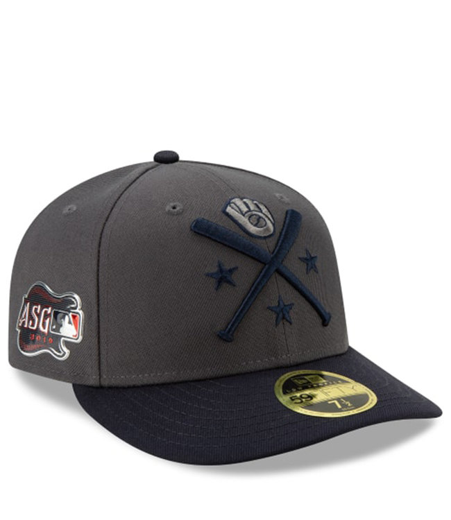 NEW ERA Brewers 19 All-Star Game Low Profile Workout Fitted Hat