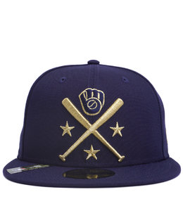NEW ERA BREWERS 2019 ALL-STAR GAME WORKOUT  ALTERNATE FITTED