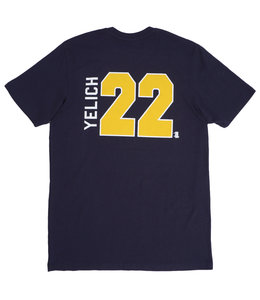 '47 BRAND BREWERS CHRISTIAN YELICH ALTERNATE RIVAL TEE