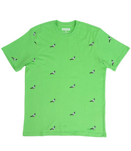 STAPLE ALL OVER PIGEON TEE