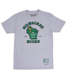 MITCHELL AND NESS BUCKS STATE TEE
