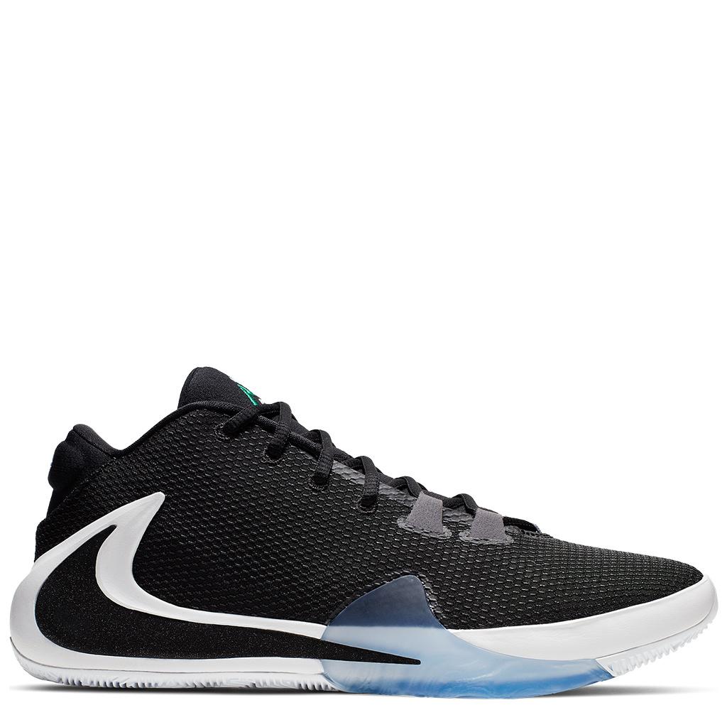 les ventes chaudes bff19 c2a46 Nike Zoom Freak 1 Shoes - Black/White/Lucid Green/Black