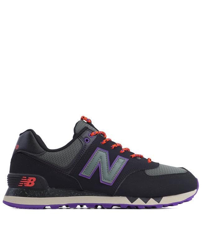 e89bf6983142d New Balance 574 Shoes - Black/Slate Green   ML574NFQ - MODA3