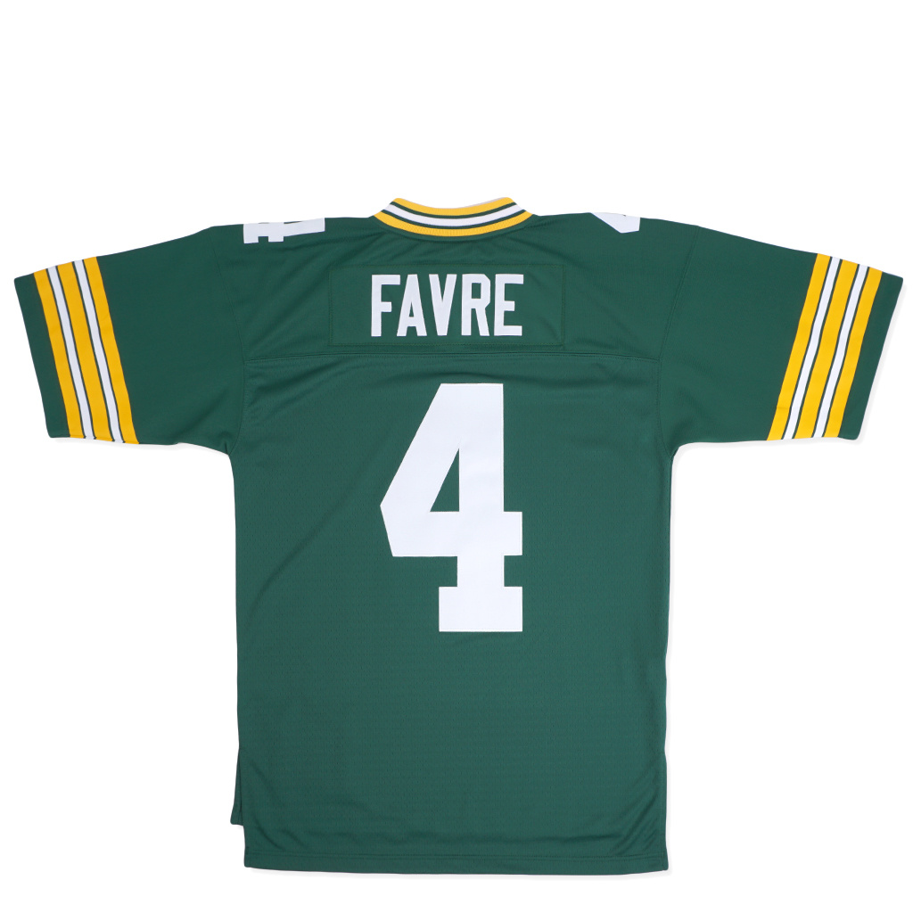 new concept f1692 62e7a Mitchell & Ness Green Bay Packers Brett Favre 1996 Legacy Jersey