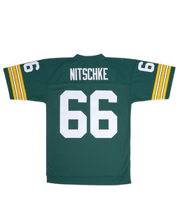 MITCHELL AND NESS PACKERS RAY NITSCHKE 1966 LEGACY JERSEY