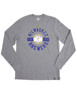 '47 BRAND BREWERS BARREL MAN CLUB LONG SLEEVE TEE