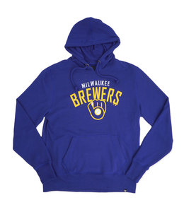 '47 BRAND BREWERS OUTRUSH HEADLINE HOODIE