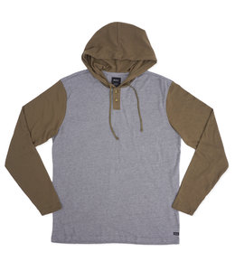 RVCA PICK UP HOODED KNIT SHIRT