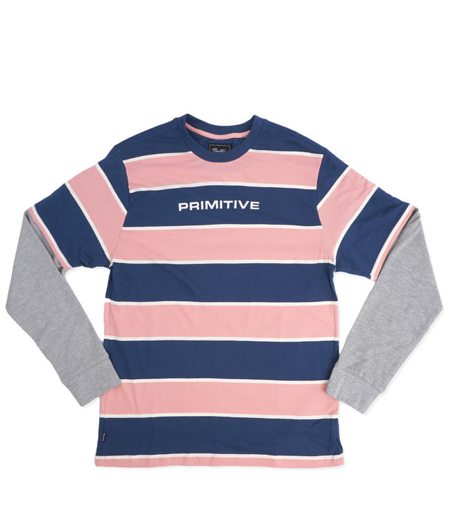 PRIMITIVE Two-Fer Long Sleeve Knit Shirt
