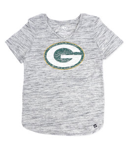 '47 BRAND PACKERS WOMENS HAZE TEE