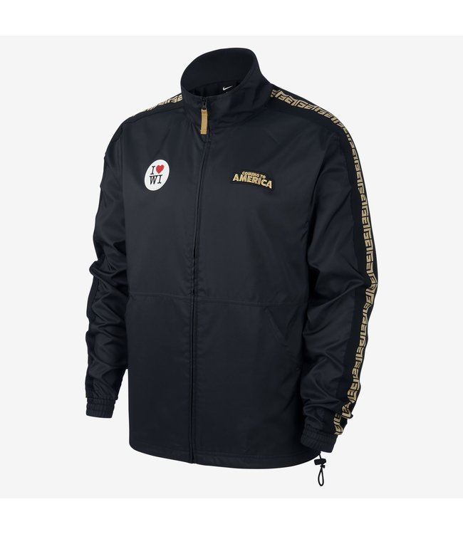 NIKE Bucks Giannnis 'Coming To America' Track Jacket