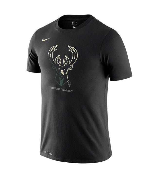 NIKE Bucks Bold Logo Tee