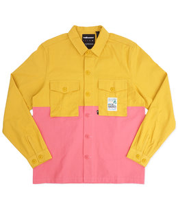 THE HUNDREDS SPLIT BUTTON-UP SHIRT