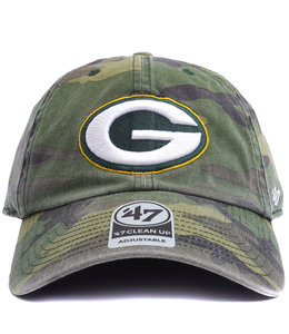'47 BRAND PACKERS CAMO CLEAN UP HAT