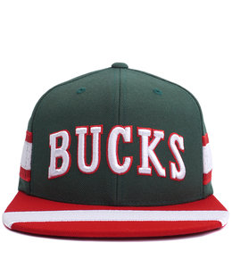 MITCHELL AND NESS BUCKS HWC JERSEY SNAPBACK HAT