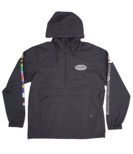 HUF WORLD TOUR ANORAK JACKET