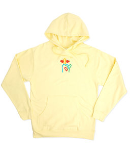 THE QUIET LIFE RAINBOW SHHH PULLOVER HOODIE