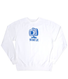 THE QUIET LIFE HAPPY CAMERA CREWNECK