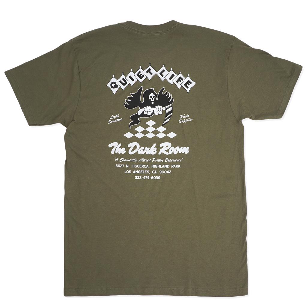 86045c3ff2 The Quiet Life Dark Room T-Shirt - Army