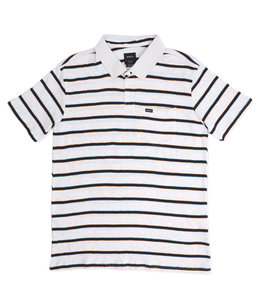 RVCA DESMOND STRIPE POLO SHIRT
