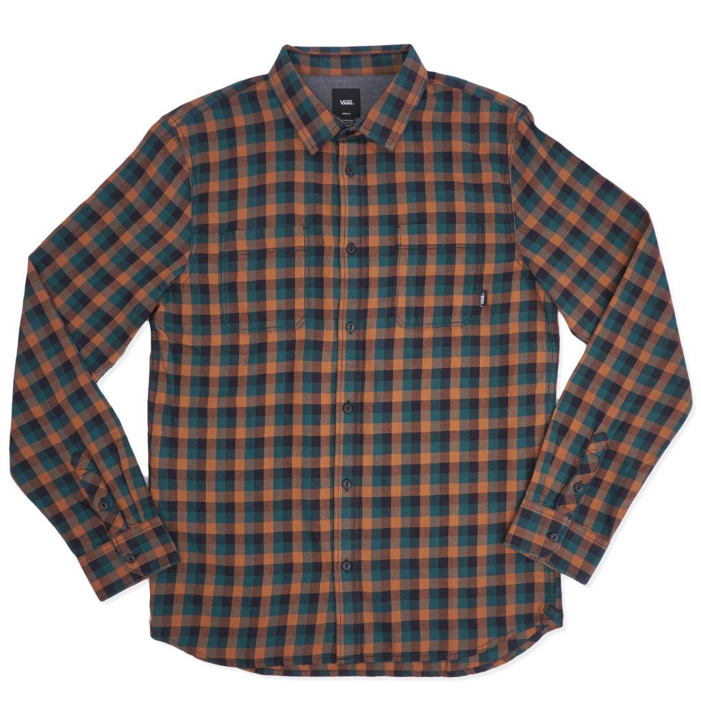 96fea86f Vans Alameda Flannel Shirt - Argan Oil | VN0A36HLTST