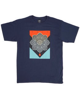 OBEY BLOOD & OIL MANDALA TEE