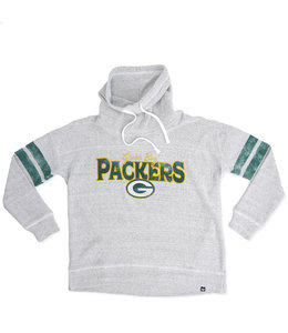 '47 BRAND PACKERS WOMENS OFFSIDES FUNNEL NECK
