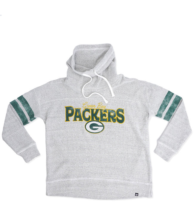 '47 BRAND Packers Women's Offsides Funnel Neck