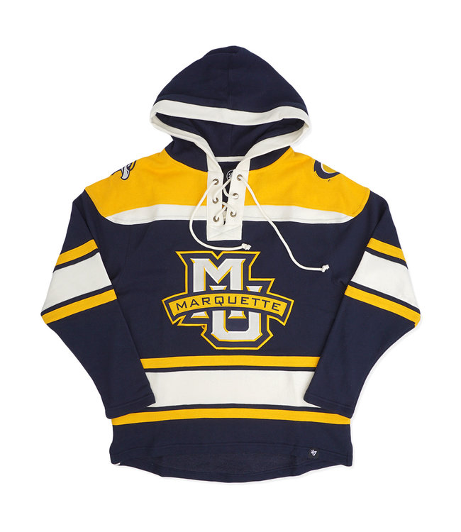 '47 BRAND Marquette Superior Lacer Hoodie