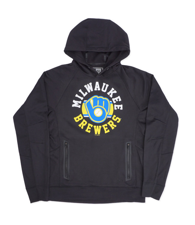 NEW ERA Brewers Retro Circle Pullover Hoodie