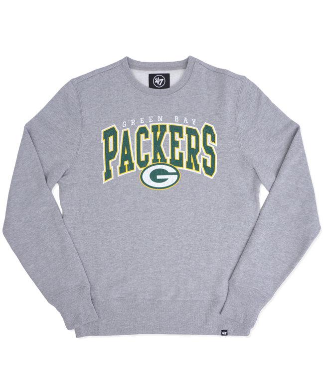 '47 BRAND Packers Varsity Block Crewneck