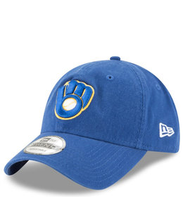 NEW ERA BREWERS CORE CLASSIC 9TWENTY ADJUSTABLE HAT