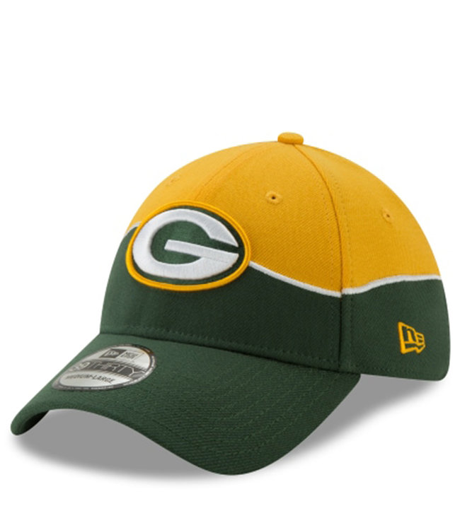NEW ERA Packers On-Stage Draft 39Thirty Stretch Hat