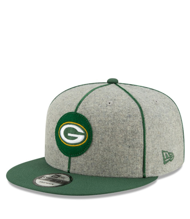 NEW ERA Packers Sideline Home 9Fifty Snapback Hat