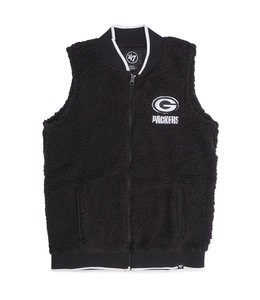 '47 BRAND PACKERS WOMENS SHERPA VEST
