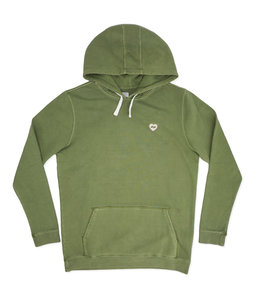 BANKS JOURNAL HEART FLEECE PULLOVER HOOD
