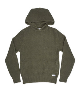 BANKS JOURNAL ACROSS HOODED KNITWEAR SWEATER