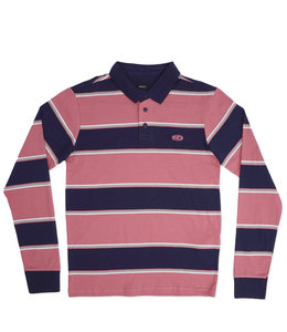RVCA APRIL SKIES LONG SLEEVE POLO SHIRT