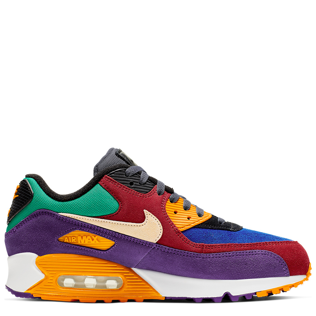 nouvelle arrivee 1e979 87900 Nike Air Max 90 QS 'Viotech' Shoes - University Red/Hyper Grape/Orange
