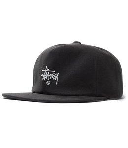STUSSY SLUB COTTON STRAPBACK HAT
