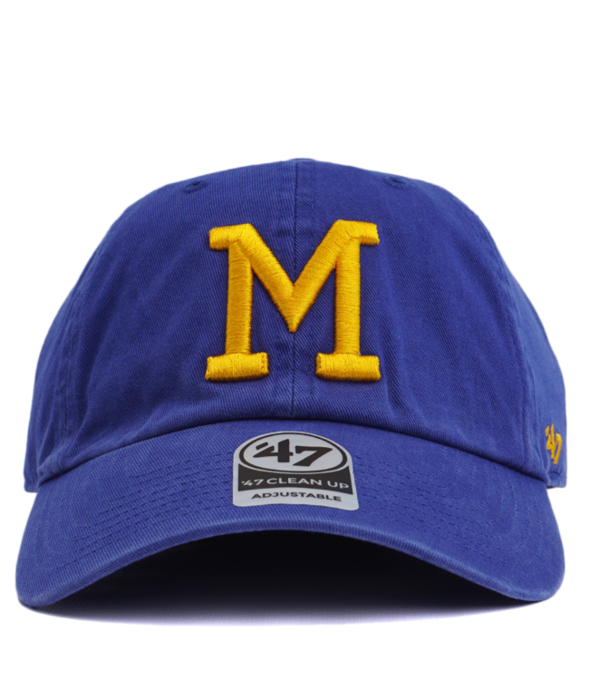 '47 BRAND Brewers Cooperstown Clean Up Hat