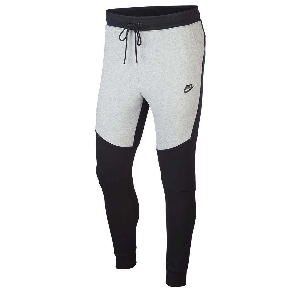 Nike Tech Fleece Jogger Pant , Black/Dark Grey Heather/Black