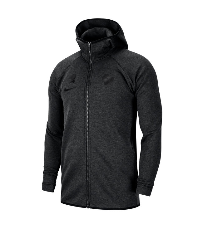 NIKE Bucks Dri-Fit Showtime Full-Zip Hoodie