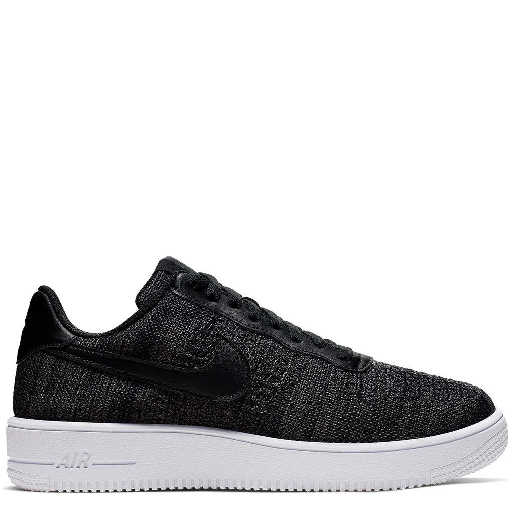 Nike Air Force 1 Flyknit 2.0 Shoes BlackAnthracite White