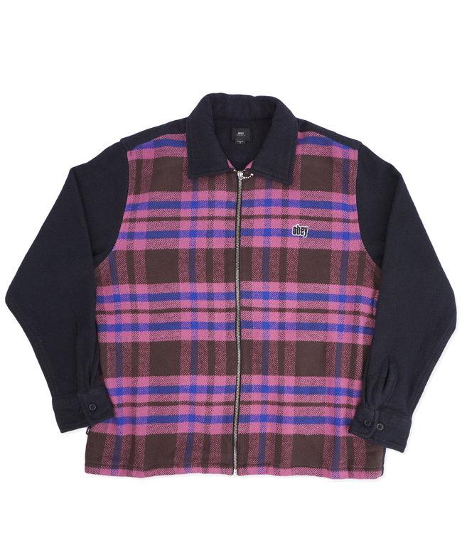 OBEY Civ Zip Shirt