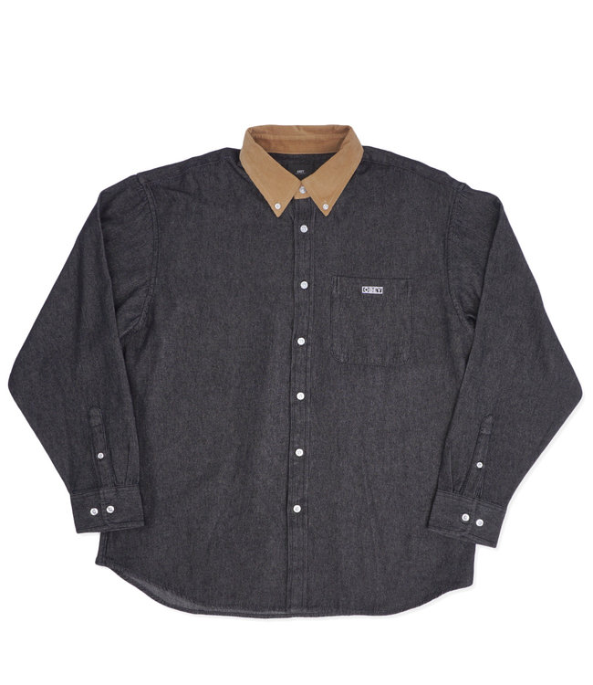 OBEY Nolan Denim Shirt